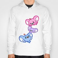 bisexual Hoodies featuring Secret Undercover Bisexual Koaloids by Arinko
