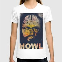 howl T-shirts featuring Howl by Alec Goss