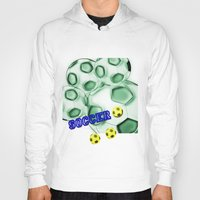 brasil Hoodies featuring Soccer Brasil by LoRo  Art & Pictures