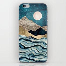 Indigo Sea iPhone Skin