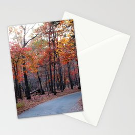 A Journey Through Fall Stationery Cards