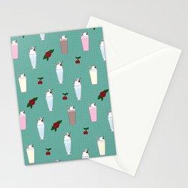 Rockabilly Milkshakes Stationery Cards