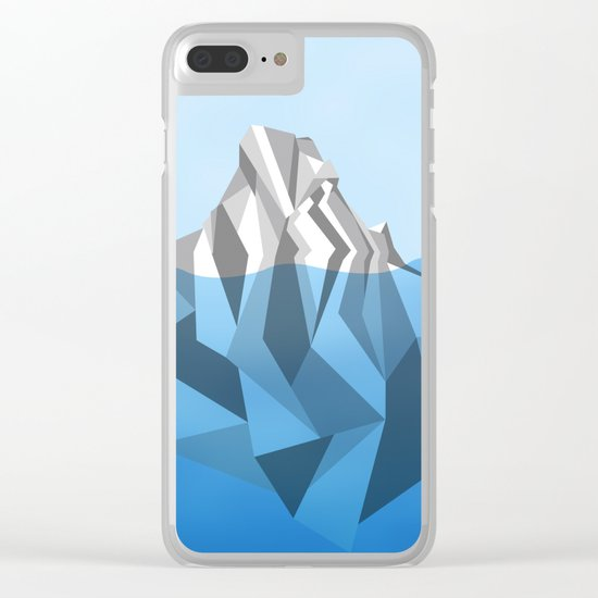 ANTARCTIC ICEBERG Clear iPhone Case