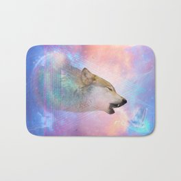 Dream By Day (Wolf Dreams - Remix Series) Bath Mat
