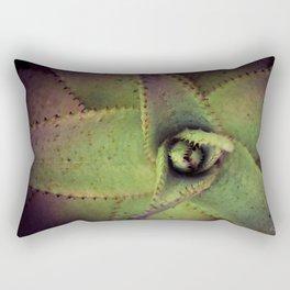 Succulent cactus close-up - Aloe Photography #Society6 Rectangular Pillow
