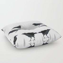 kargalar (crows) Floor Pillow