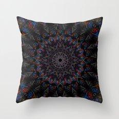 Rift Rose Throw Pillow