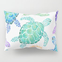 Sea Turtle - Colour Pillow Sham