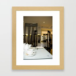 Buchanan Tea Room Framed Art Print