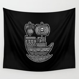 Pirate Ship - Scourge of Nurnen Wall Tapestry