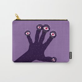 Weird Hand With Watching Eyes Carry-All Pouch