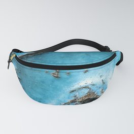 Turquoise stone close up Fanny Pack