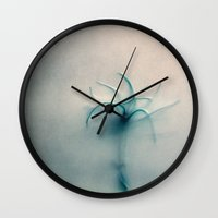 dancer Wall Clocks featuring dancer by Claudia Drossert