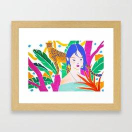 Wild Jungle Framed Art Print