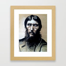 Rasputin Framed Art Print