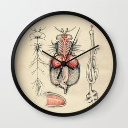 Cabinet of Curiosities No.1 Wall Clock
