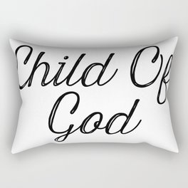 Child Of God Rectangular Pillow