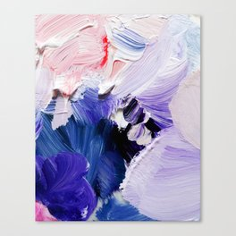 If You Please (Abstract Painting) Canvas Print
