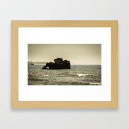 Atlantique Albufeira Framed Art Print