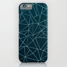 Ombre Ab Teal iPhone 6s Slim Case
