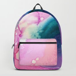 Abstract organic composition Backpack