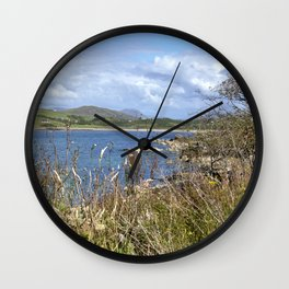 High Island View Wall Clock