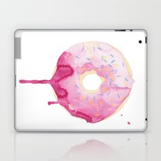 Glazed Pink Donut Laptop & iPad Skin
