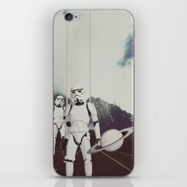 THE WORLD IS OUR iPhone Skin