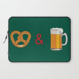 Bretzels (Pretzels) and Beer Laptop Sleeve