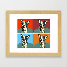 Johnnie Frenchie Framed Art Print