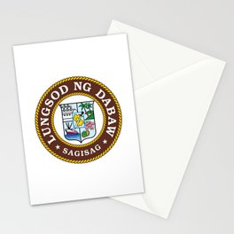 flag of Davao, Philippines Stationery Cards