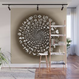 Coffee Lovers Mandala Wall Mural