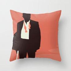 Minimalist Bond: Casino Royale Throw Pillow