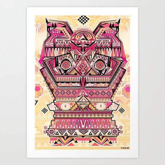 hiboux Art Print