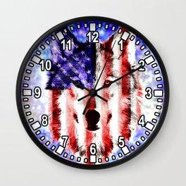 wolf USA Wall Clock