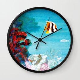 Australian Reef          by Kay Lipton Wall Clock