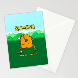 Dumpin' Donut Stationery Cards