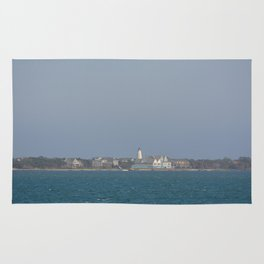 Ocracoke Island from the ferry Rug
