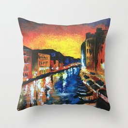 Harlem, Clearly Throw Pillow