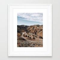 denver Framed Art Prints featuring Denver by Joe Greer
