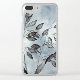 Briza media from my local shop Clear iPhone Case