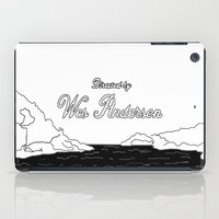 wes anderson iPad Cases featuring DIRECTED BY WES by dreyfus