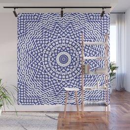 Helios (blue-white) Wall Mural
