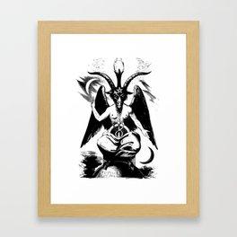 BAPHOMET by ELIPHAS LEVI Framed Art Print