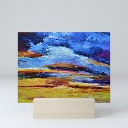 Breaking Sunset Mini Art Print