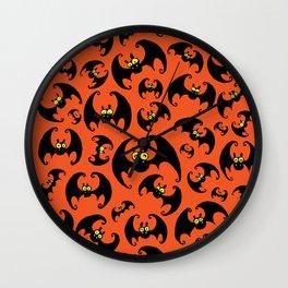 Bats! Wall Clock
