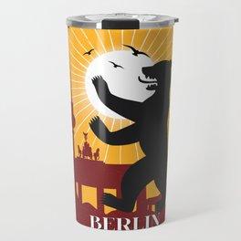 Berlin vintage poster travel Travel Mug