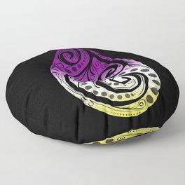 Non Binary Pride Drop Floor Pillow
