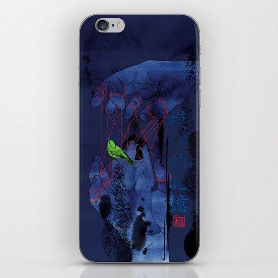Fade Into The Blue-模糊的记忆 iPhone & iPod Skin