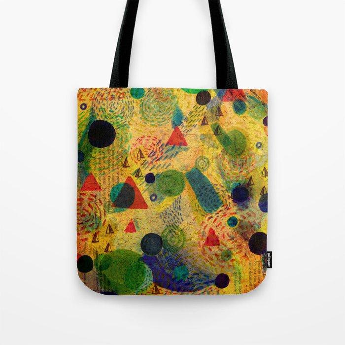 Color Dimension Tote Bag